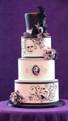 My Sissy's Wedding Cake!