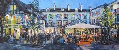 Late Summer On The Pantiles: Tunbridge Wells, Late Summer, Places To Go, Gallery, Painting, Art, Art Background, Roof Rack, Painting Art