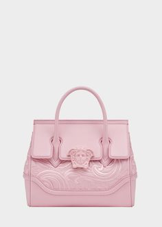 2298b7c0e3bc Versace Embroidered Palazzo Empire Bag   Only Me ✌✓ xoxo Versace Pink