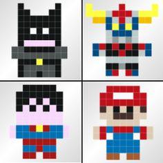 *Les stickers pixels ou la déco geek par excellence ! #stickaz