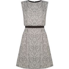 OASIS Tweed Overlay Dress (320 BRL) ❤ liked on Polyvore featuring dresses, multi, tweed dress, going out dresses, overlay dress, kohl dresses and night out dresses