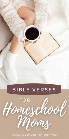 Homeschooling can be hard, but these scriptures will remind you of your purpose, as well as providing the Godly encouragement you need. #scriptures #homeschoolmom #homeschoolencouragement