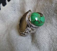 Jewelry For Her, Boho Jewelry, Fine Jewelry, Turquoise Gemstone, Turquoise Jewelry, Bridesmaid Rings, Mother Gifts, Mothers, Gothic Rings