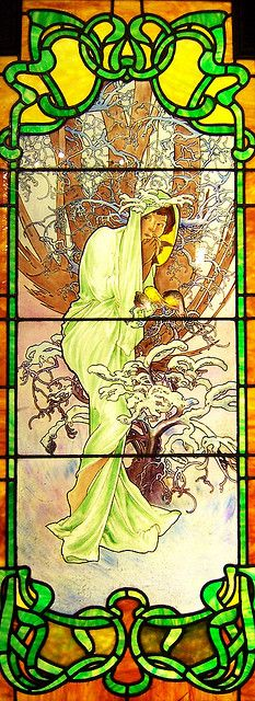 Art Nouveau Stained Glass | Flickr - Photo Sharing!