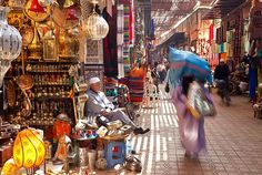 Marrakech souk ^ Souk it and see - Haggle and travel in Marrakech >~:> http://www.thesun.co.uk/sol/homepage/travel/4832717/Haggle-and-travel-in-Marrakech.html