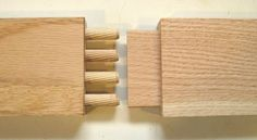 Dowel vs. mortise and tenon - joint strenght test