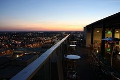 The Rooftop Bar At Sheraton Hotel Columbia Sc Overlooking City