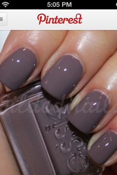 Essie Nails ....love the color