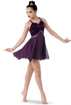 Weissman® | Velvet Empire Dress + Georgette Skirt