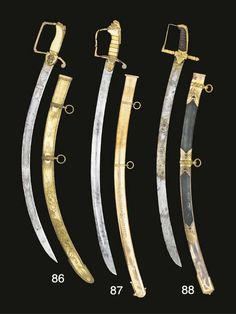 Officers swords with acid etched blades custom made