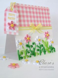 quilling easter | Quilled Easter flowers by cbuswell - Cards and Paper Crafts at ...
