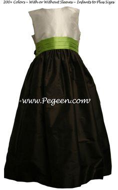 ccfde02dd7 19 Best Brown Flower Girl Dresses   Weddings by Pegeen.com images ...