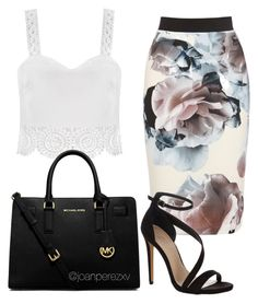"""""""Untitled #150"""" by joanperezxv on Polyvore featuring Carvela Kurt Geiger and MICHAEL Michael Kors"""