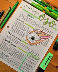 Bullet Journal Notes, Bullet Journal School, Bullet Journal Ideas Pages, School Organization Notes, Study Organization, Pretty Notes, Cute Notes, Medicine Notes, Nursing School Notes