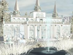 Snow Queen's Palace by Wimmie - Sims 3 Downloads CC Caboodle