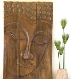 Buddha Serene Now availble once again in a Brown Wax Finish at Kan Thai Decor