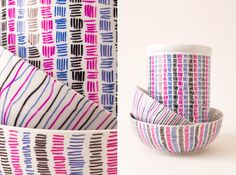 Patterned Ceramics U