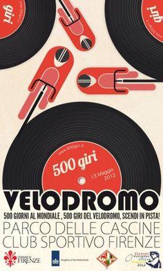 Velodromo 500 giorni al mondiale, 500 giri del velodromo, scendi in pista!