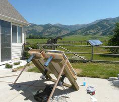 Solárny kolektor za jeden deň