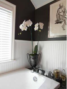 Donna DuFresne Design - eclectic - bathroom - portland - by Donna DuFresne Interior Design White Beadboard, Eclectic Bathroom, Bathroom Renovations, Bathroom Ideas, Bath Ideas, Bathroom Designs, Contemporary Bathrooms, Home Deco, White Bathroom