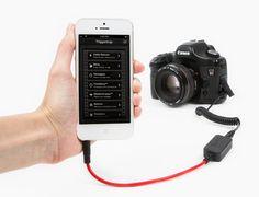 Triggertrap Smartphone Afstandsbediening + kabel Nikon N10