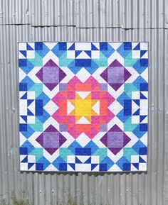 Aurora Quilt PDF Pattern - Tied with A Ribbon