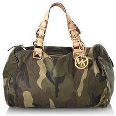 Michael Kors Tasche Camouflage