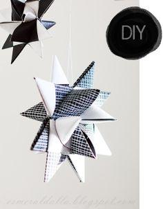 DIY Paper Star | Esmeralda's