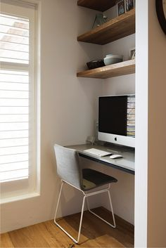 Nook workplace. New home goals.