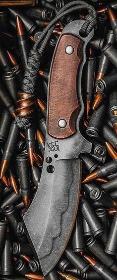 Koch Custom Fixed Survival Knife Blade @aegisgears