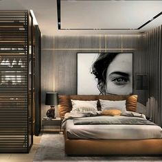 Bedroom Goals? 🔥 Tag your friends who will love this design! Follow @mashhafez for more #houseinspirations . Designed by @studionacrt…