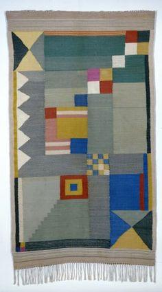 Benita Koch-Otte, Teppich für ein Kinderzimmer, 1923 Klassik Stiftung Weimar (N 258/56)