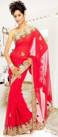 #Red #Saree