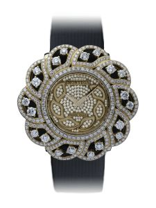 Montre Montega - Elie Chatila, or rouge, diamants, EC 107.04