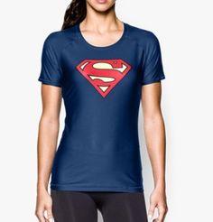 Women's Under Armour® Alter Ego HeatGear® Sonic Supergirl T-Shirt