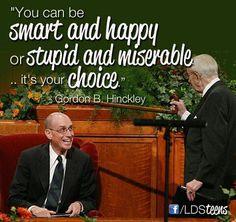 I love Gordon B. Hinckley!!