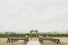 REAL WEDDING: Kristy + Travis - Zonzo Estate - WedShed