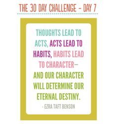 30 Day Challenge - She has some really great self improvement ideas
