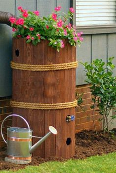 Бочка для хранения дождевой воды