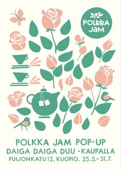 Polkka Jam pop-up shop in Daiga Daiga Duu-shop in Kuopio 24.5.-31.7.2013.