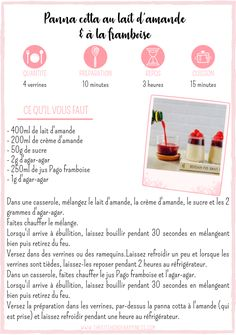 The Kitchen of Happiness - 3 recettes avec les jus Pago - The Kitchen of Happiness Mini Desserts, Veggies, Food And Drink, Gluten, Nutrition, Lactose, Healthy Recipes, Snacks, Flan