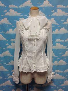 Prince-like Blouse in White from Angelic Pretty - Lolita Desu