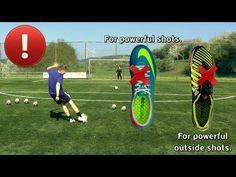 How to Shoot a Soccer Ball with Power | Vollspann Tutorial | freekickerz