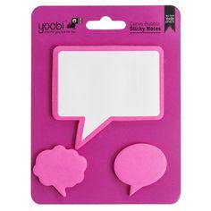 Sticky Note Dispenser - Pink