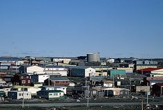 Rankin Inlet ᑲᖏᖅᖠᓂᖅ is an Inuit hamlet on Kudlulik Peninsula in Nunavut, Canada.  As of the 2006 census the population was 2,358, an increase of 8.3% from the 2001 census. It is the second-most populated community in Nunavut (behind the capital of Iqaluit). The hamlet has a land area of 20.24 km² (7.8 sq mi).  In the 1995 Nunavut capital plebiscite, Iqaluit defeated Rankin Inlet to become territorial capital of Nunavut.