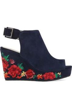 Alternate Image 3  - Kenneth Cole New York Olani Embroidered Wedge Sandal (Women)