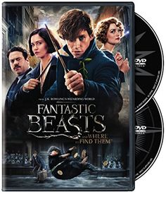 Fantastic Beasts and Where to Find Them (DVD) WarnerBrothers