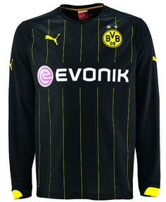 Borussia Dortmund 2015 16 Away Long Sleeve Men Shirt Personalized Name and  Number f2c554bdb