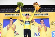 Tour de France 2016 - 13/07/2016 - Etape 11 - Carcassonne/ Montpellier (162,5 km) - Christopher FROOME (TEAM SKY), maillot Jaune © ASO/A.Broadway