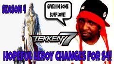 HOPEFUL LEROY CHANGES FOR SEASON 4 (Tekken 7)- Leroy Smith, Rant, Discus... Tekken 7, Discus, Season 4, Change, Youtube, Youtubers, Youtube Movies